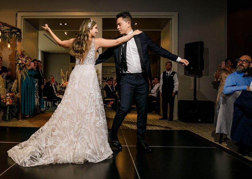 El romance materializado: la boda de Vivi y Andrés