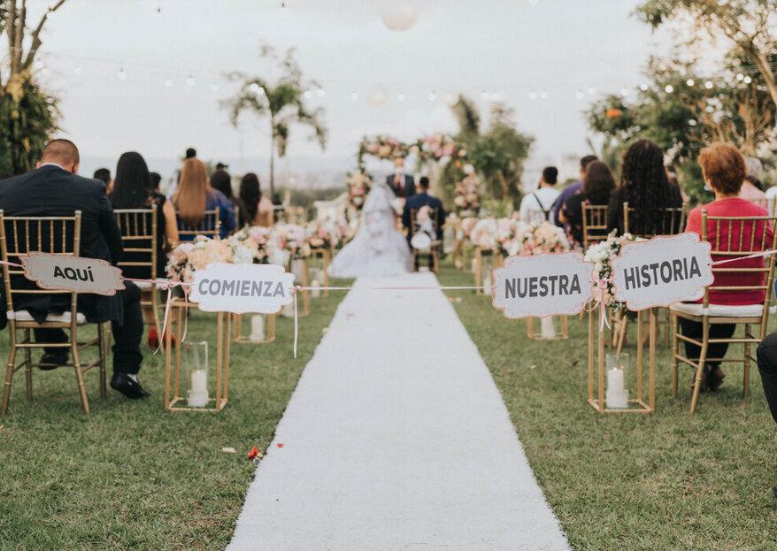 Así es como Backus Eventos construye bodas memorables