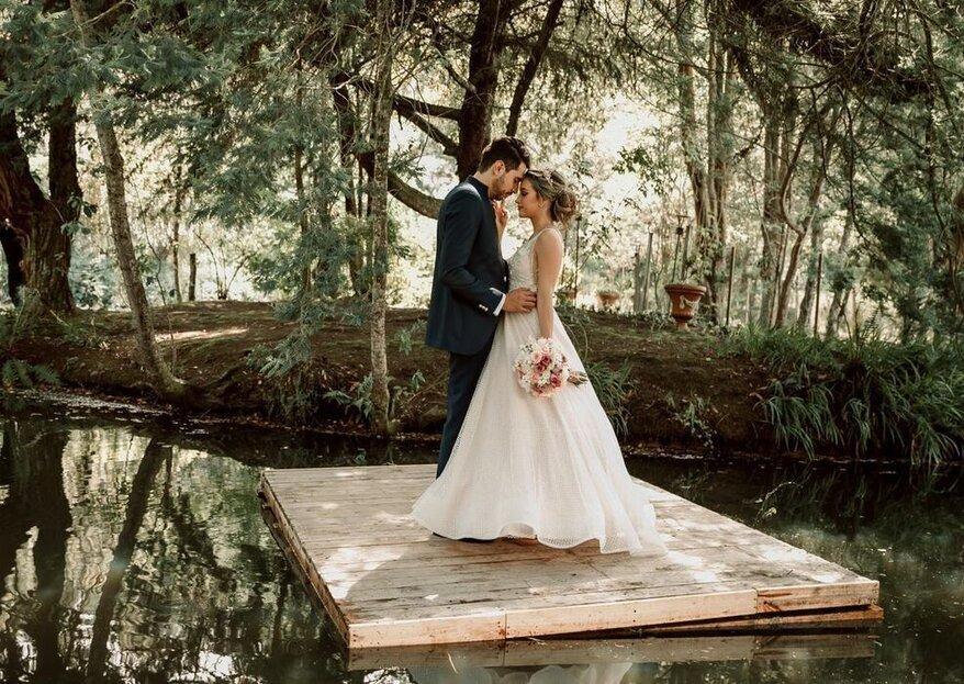 Los tres ambientes de la Hacienda Rincón de Teusacá para tu boda en La Calera