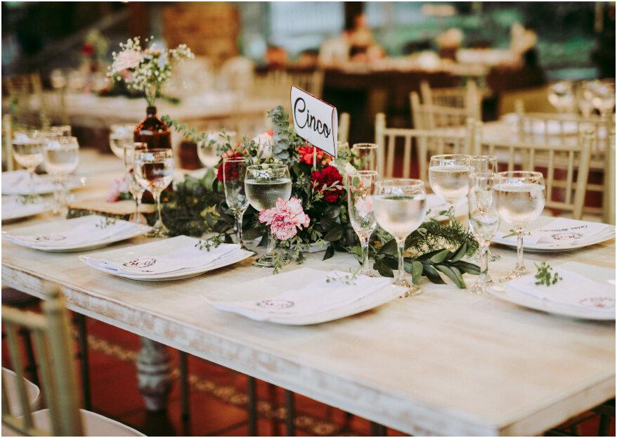 Marcar las mesas en tu boda: ¡5 pasos para una organización perfecta!