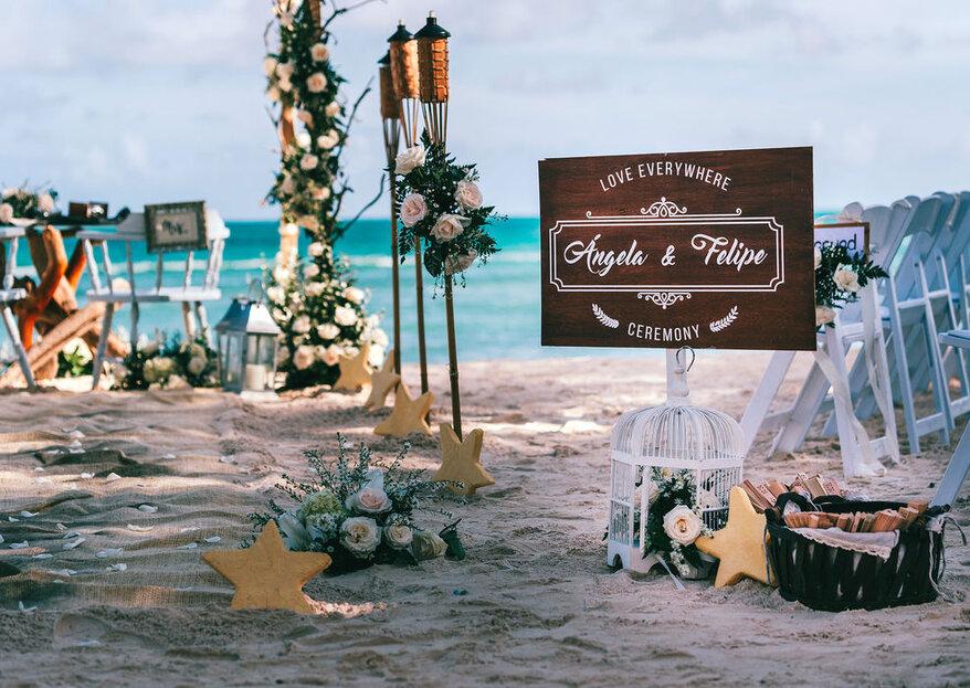 MMS Events Planner diseña tu boda en una isla paradisíaca: ¡un sueño hecho realidad!