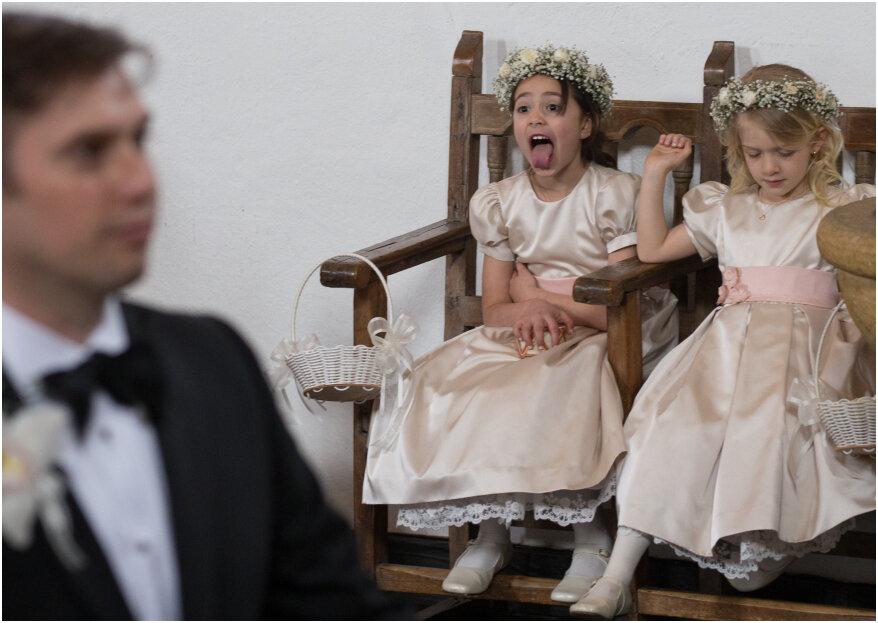 Cómo entretener a los niños en una boda: 6 ideas para la diversión total