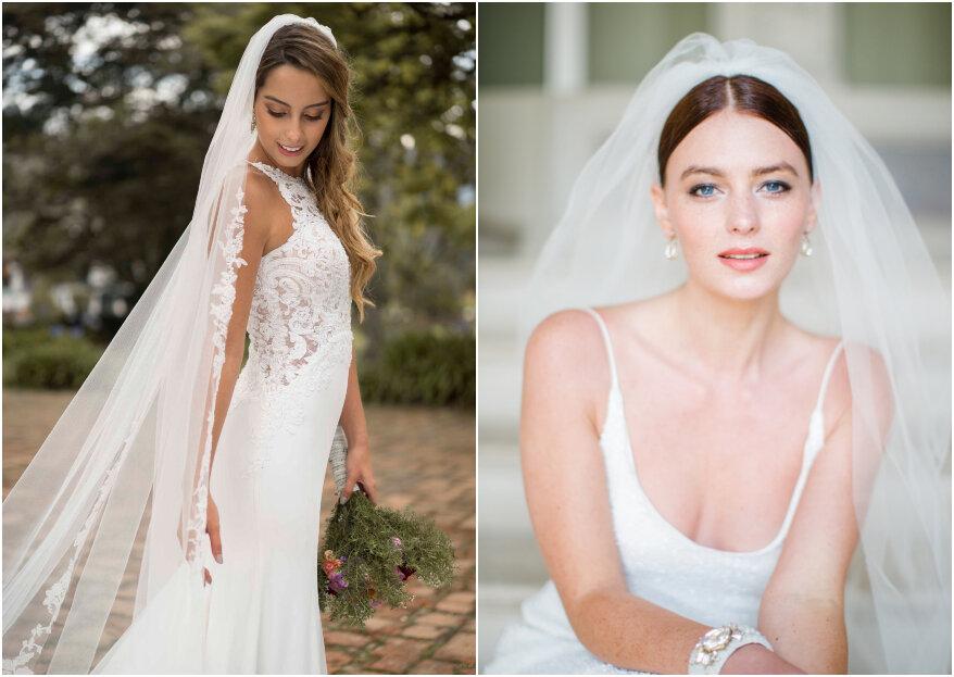 Cómo escoger tu velo de novia: los 5 aspectos básicos que debes conocer