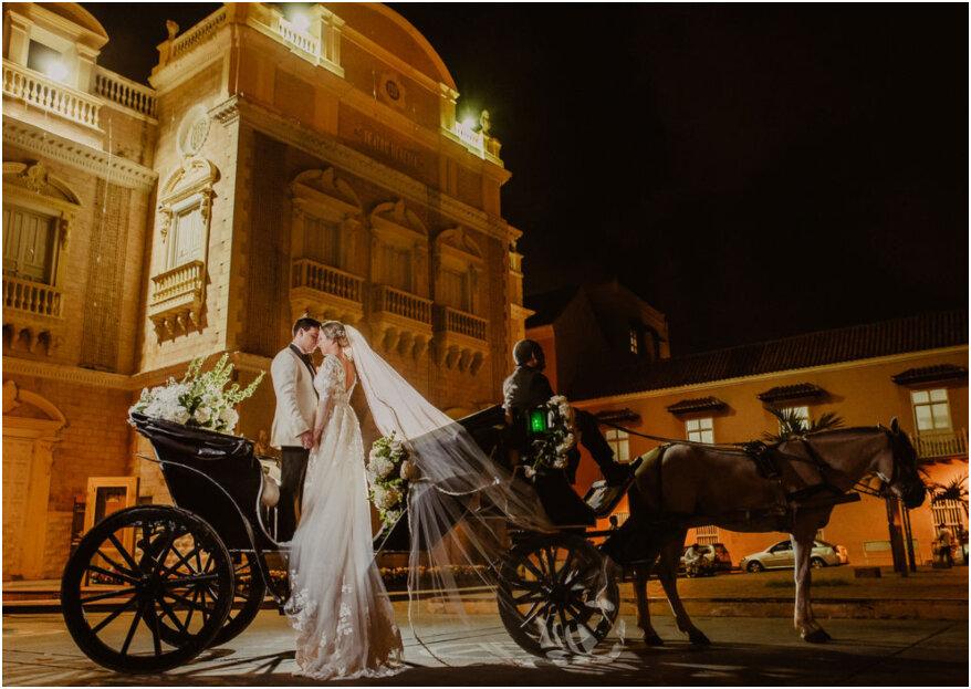 Guía para casarse en Cartagena: ¡la ciudad de ensueño para tu destination wedding!