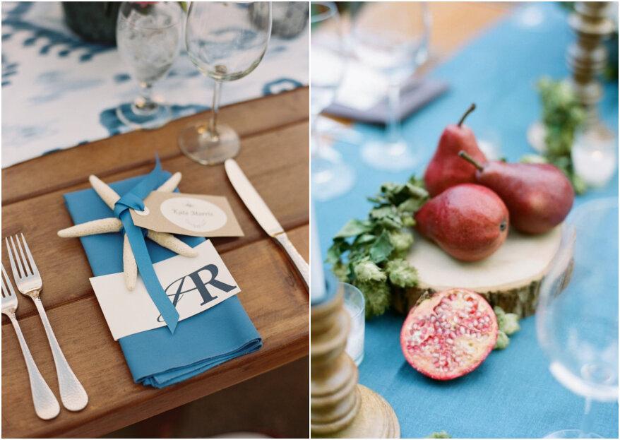 Decoración de boda sin flores: ¡5 ideas para sorprender a tus invitados!