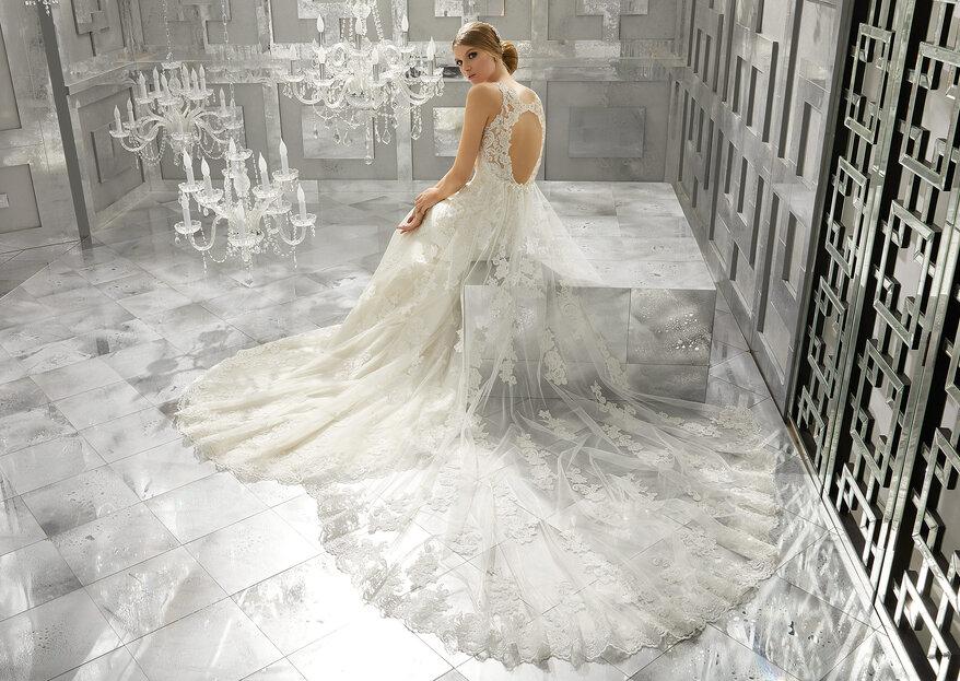 ¡Atrapa todas las miradas! Mori Lee Bridal diseña tu vestido soñado para lucir radiante el día de tu boda
