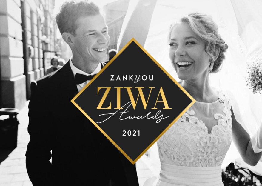 Premios ZIWA 2021: ¡el reconocimiento a los mejores en la industria de las bodas!