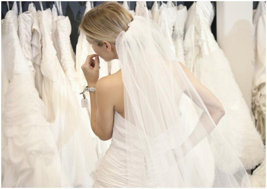 Cómo escoger el vestido de novia: 5 pasos y ¡lucirás el más bello!
