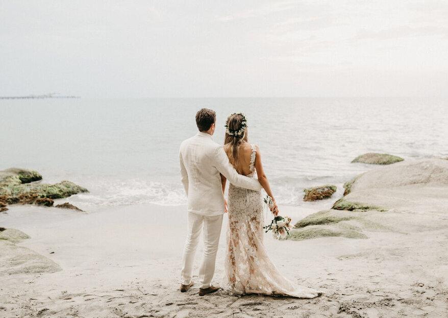 Tu boda perfecta en la ciudad o en la playa