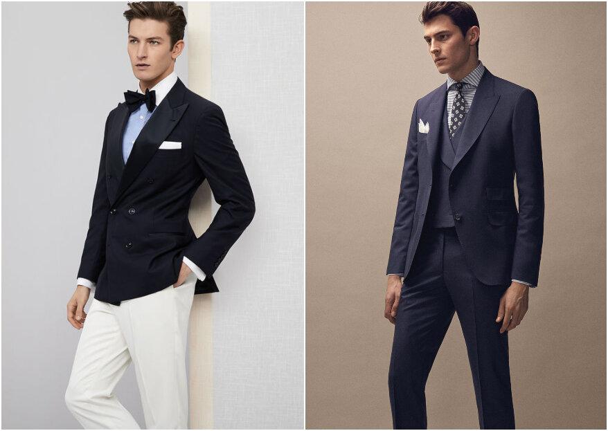 Pasos para escoger el traje de novio: ¡personalidad, estilo y más!