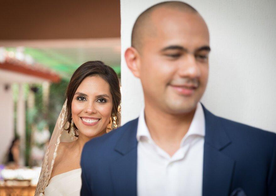 La boda de Lina y Carlos: juntos por siempre ¡en la salud y en la enfermedad!