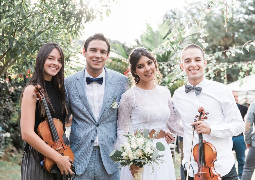 Descubre con Clave de Dos las cinco emociones que el violín puede representar en tu boda
