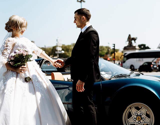 Transporte para bodas en Colombia